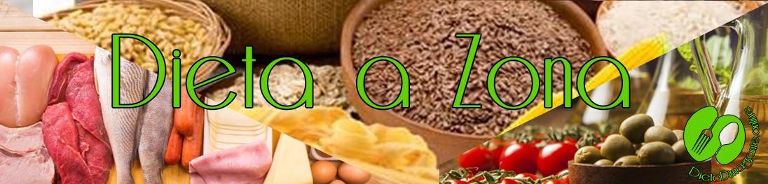 dieta a zona menu