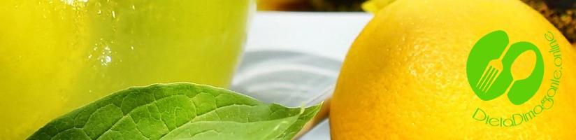 la dieta del limone più snella in una settimana